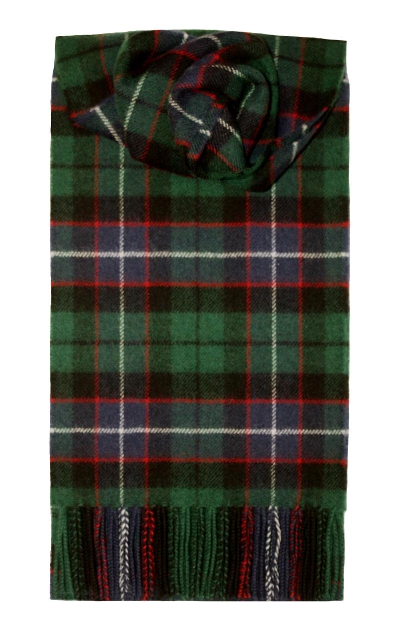 Lochcarron Russell Tartan Lambswool Scarf